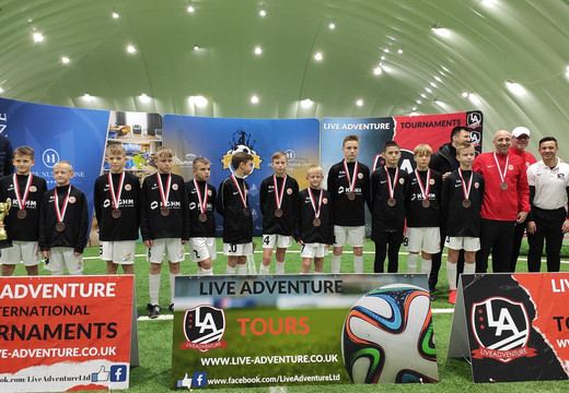 "U – 13 | ""Miedziowi"" na podium w Number One Cup 2019"