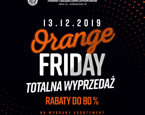 FAN SHOP | Orange Friday nawet do - 80%